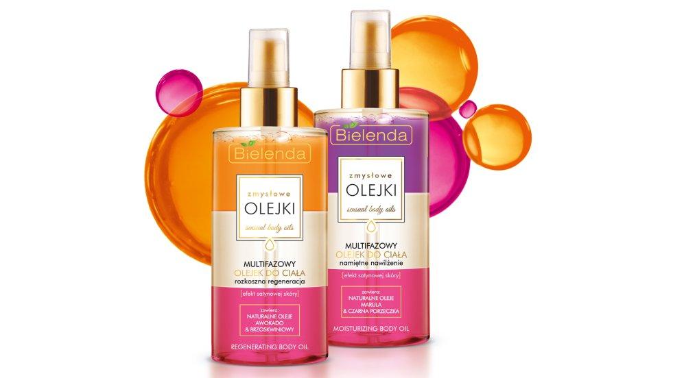 Odkryj piękny zapach i świetną, lekką formułę olejków Bielenda