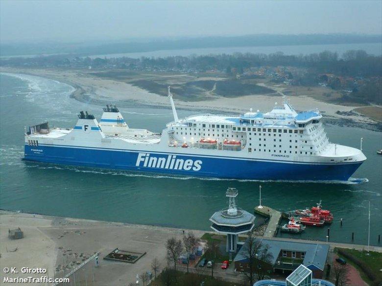 Statek Finnmaid.