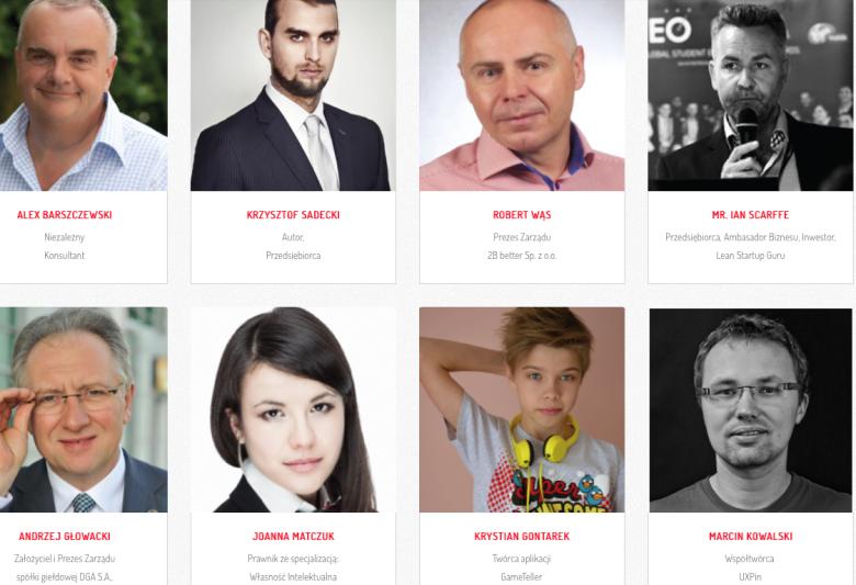 Krystian Gontarek wśród doświadczonych mentorów biznesu