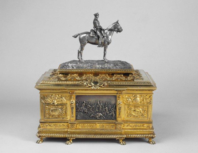 Szkatuła wykonana przez Faberge