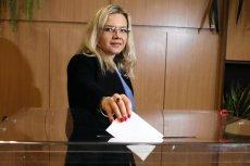 Małgorzata Wassermann zagłosowała dzisiaj w wyborach w Krakowie – a potem wyjechała do Warszawy.