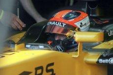 Robert Kubica podczas testów bolidu na węgierskim Hungaroringu. Jeśli przejdzie kolejne, może zostać kierowcą Williamsa w następnym sezonie Formuły 1.