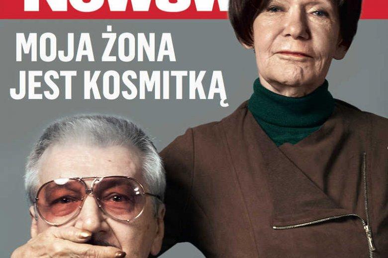 Maria Czubaszek z mężem Wojciechem Karolakiem.