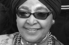 Zmarła Winnie Mandela, żona Nelsona Mandeli.