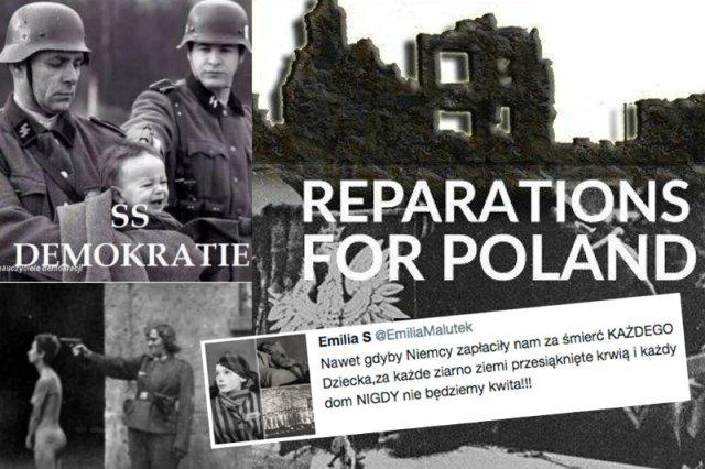 Drastyczne zdjęcia mają udowodnić, że Polska jednak ma prawo domagać się reparacji wojennych od Niemiec.
