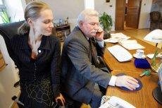 Maria Wiktoria Wałęsa z Lechem Wałęsą (zdjęcie z 2005 roku)
