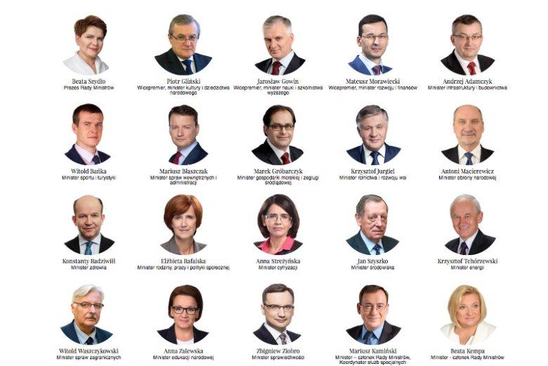 Jednego z tych ministrów niektórzy w ogóle nie kojarzą z nazwiska.