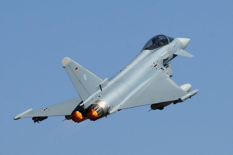 W Niemczech doszło do katastrofy z udziałem myśliwców Luftwaffe – Eurofighter.