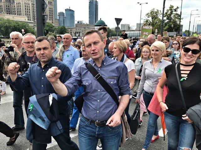 Marsz dla Puszczy, 24 czerwca 2017 r., Warszawa