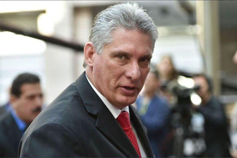 Miguel Diaz-Canel to nowy prezydent Kuby.
