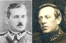 Gen. Bułak-Bałachowicz i Semen Petlura - obaj walczyli po stronie polskiej w wojnie z bolszewikami.