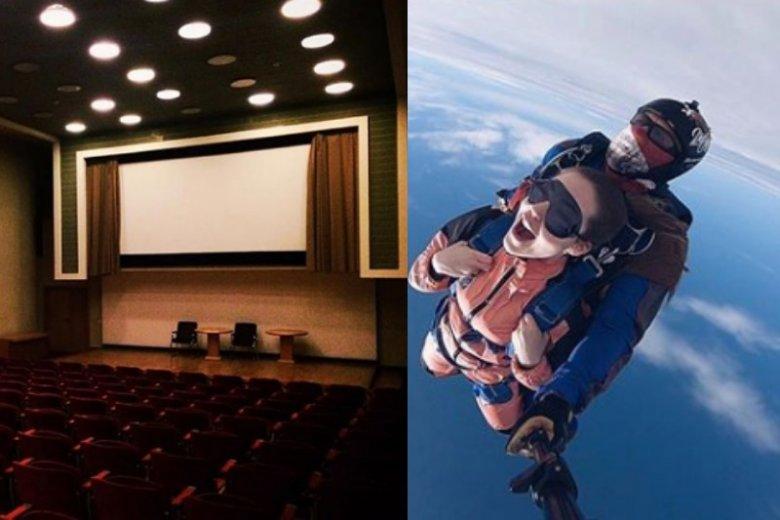 Spokojny wieczór w kinie czy ekstremalny skok ze spadochronem. Ty wiesz najlepiej, co lubi twój tata