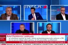 Wielu Polaków ogląda tylko telewizję publiczną. Z ich przekazów mogą w ogóle nie wiedzieć, o co chodzi w protestach opozycji.