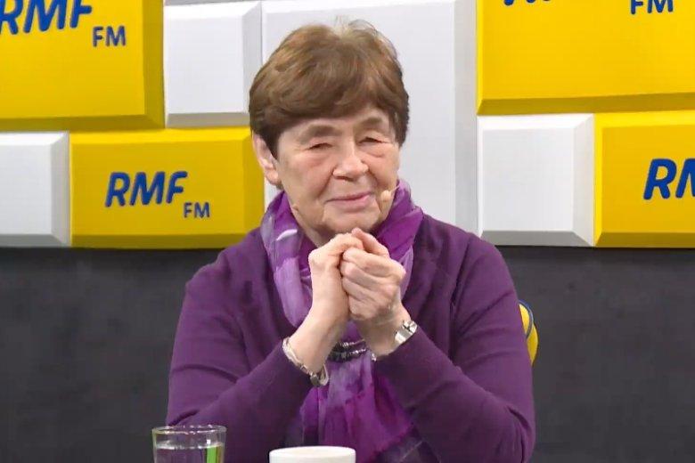 Zofia Romaszewska krytycznie oceniła pomysł budowy pomnika Tadeusza Mazowieckiego.