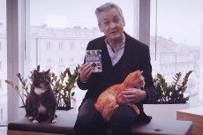 Robert Biedroń zachęca w specjalnym filmie do adopcji kotów