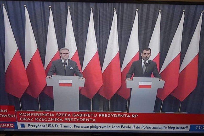 Internauci szybko zauważyli powyborczą zmianę w Pałacu Prezydenckim.