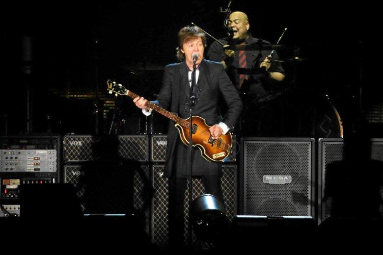 Paul McCartney po raz pierwszy wystąpił w Polsce w 2013 roku.