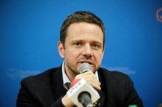 Rafał Trzaskowski nie zamierza przemilczeć oskarżeń o zażywanie kokainy. Pozwie Marcina Dziębę do sądu.