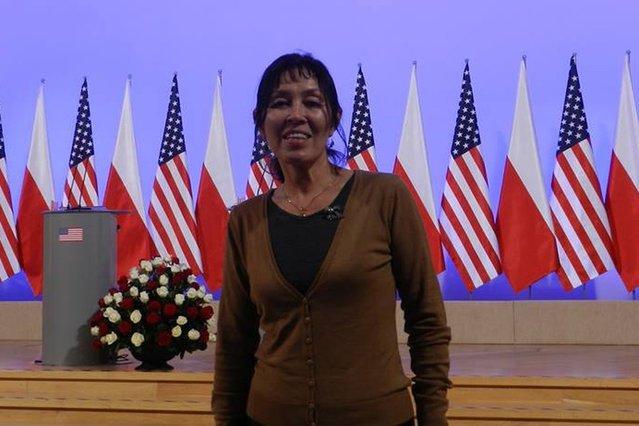 Prezes Wspólnoty Kazachskiej Balli Marzec