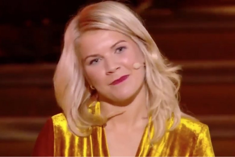 Ada Hegerberg stała się obiektem seksistowskiego żartu Martina Solveiga, który prowadził galę Złotej Piłki.