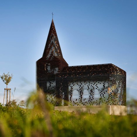 Kościół w Linburgu, Belgia, Gijs Van Vaerenbergh