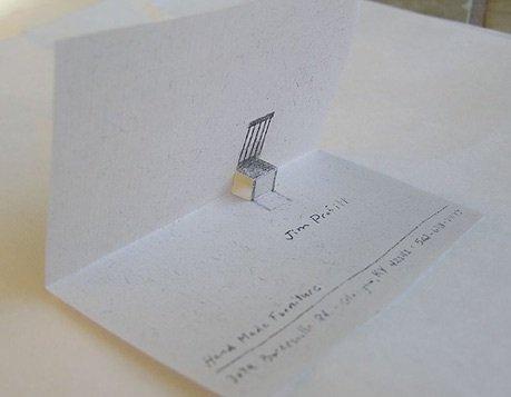wizytówka projektanta mebli