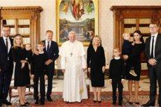 Podczas audiencji u papieża Franciszka zobaczyliśmy w końcu wnuczkę Donalda Tuska.