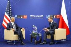 Barack Obama i Andrzej Duda spotkali się przed oficjalnym startem szczytu NATO.