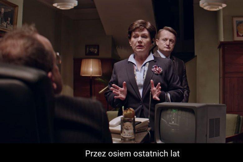 """""""Przez osiem ostatnich lat Polki i Polacy..."""" – to mantra, jaką powtarza serialowa Beata Szydło w """"Uchu Prezesa"""". Teraz cytatem tym posłużyła się prawdziwa Beata Szydło."""
