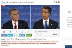 Grafika autorstwa Shelby'ego White'a, wykonana przez niego po jednej z prezydenckich debat, szybko stała się hitem internetu.