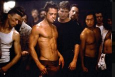 "Kadr z filmu ""Fight Club"""