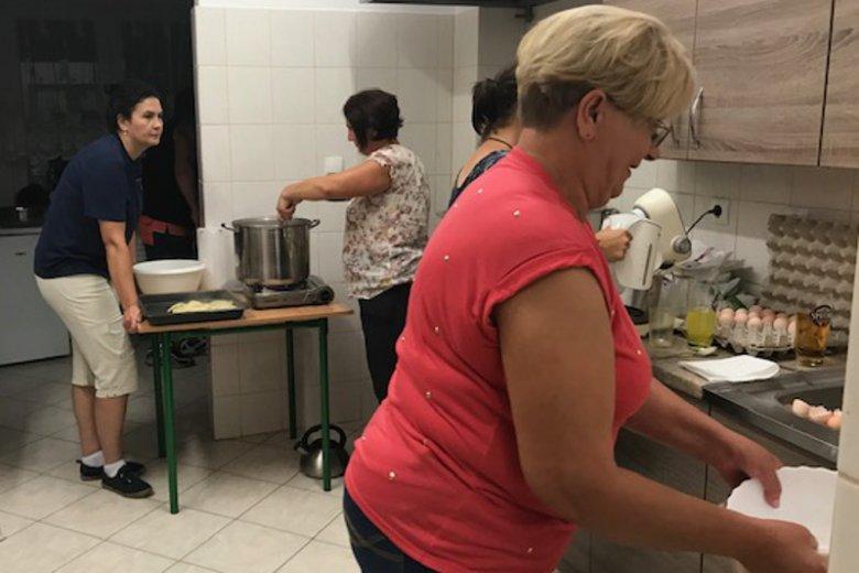 Kobietom ze wsi Skolity zapału do pracy nie brakuje