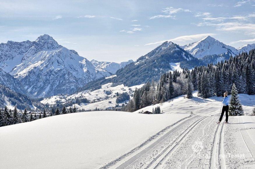 Dolina Kleinwalsertal. Narty biegowe w Austrii   Znajkraj