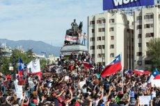 Antyrządowe protesty w kilku krajach świata. W Chile trwają od połowy października.