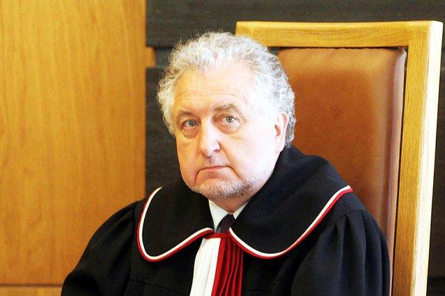 Prezes Trybunału Konstytucyjnego prof. Andrzej Rzepliński.