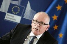 Frans Timmermans jest  zastępcą Jean-Claude'a Junckera na stanowisku szefa Komisji Europejskiej i często wypowiada się na temat Polski