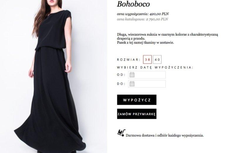 Sukienki duetu bohoboco to marzenie wielu kobiet. Dzięki wypożyczalni jest bardziej osiągalne