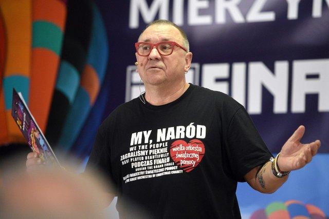 Jerzy Owsiak chce pomóc Tomaszowi Gollobowi.