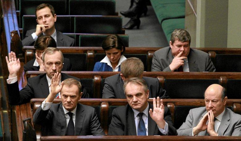 Rząd podczas głosowania w Sejmie