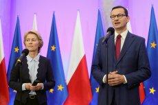 Mateusz Morawiecki zaczął briefing prasowy z Ursulą von der Leyen od stwierdzenia, że Polska ma już kandydatów na unijnych komisarzy.