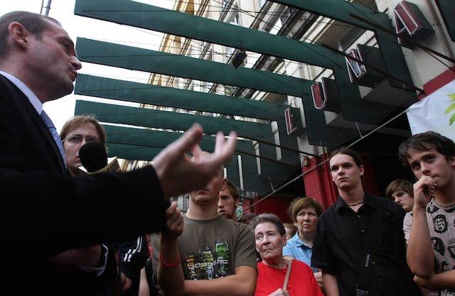 05.09.2008 WARSZAWA, PIKIETA W OBRONIE KINA LUNA