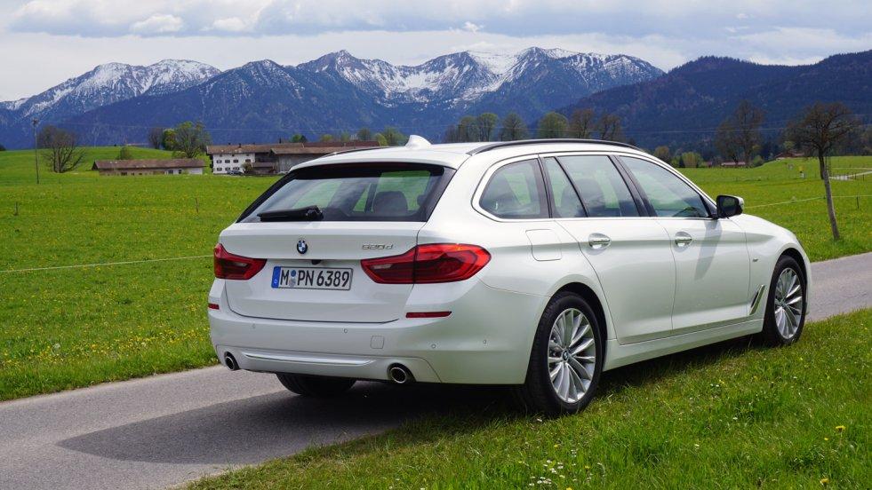 Nowe BMW 5 Touring zapowiada się na rynkowy przebój.