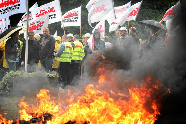 Górnicze związki grożą zorganizowaniem kolejnych strajków