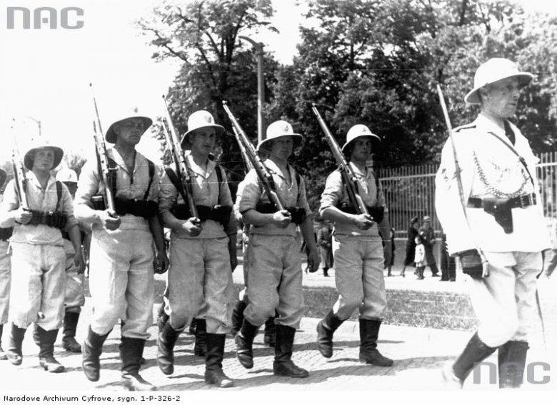 Pieszy, paramilitarny oddział Ligi Morskiej i Kolonialnej mający pełnić służbę na przyszłych koloniach Polski.