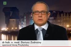 Doktor Zadrożny podzielił się historią swojej pacjentki na wizji.