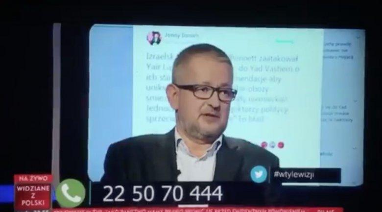 """Ziemkiewicz i Wolski przekroczyli granice w """"W tyle wizji""""?"""