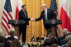 Andrzej Duda może się pochwalić, że ściskał dłoń Donalda Trumpa.