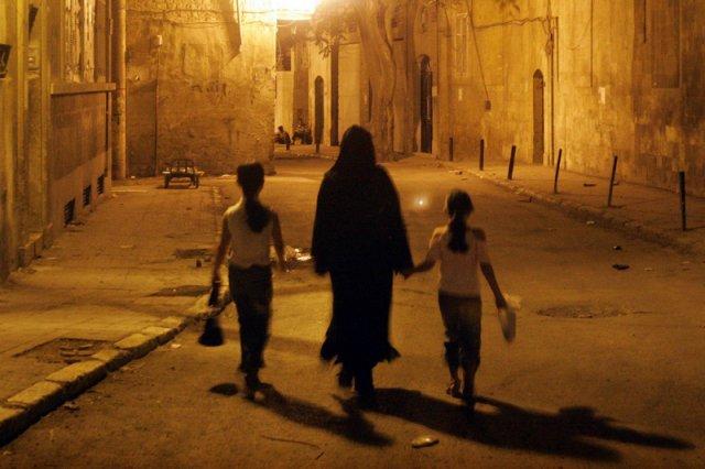 Aleppo w 2008 roku, kiedy życie w mieście było jeszcze względnie normalne