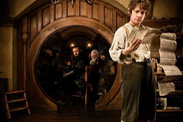 """Pierwsza część """"Hobbita"""" to najczęściej """"piracony"""" film 2013 roku."""