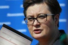 Katarzyna Lubnauer i inni posłowie KO nie mogą zalogować się do systemu głosowania online.